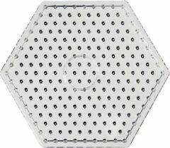 Creativ company Onderplaat, afm 17 cm, transparant, JUMBO - zeskant, 1stuk