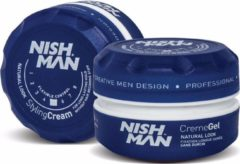 Nish Man 1 x Nishman Hair Styling Cream Light Hold 3.5 oz