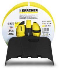 Karcher Kärcher Schlauchset (15m) mit Schlauchhalterung für Gartenpflege 2.645-114.0, 26451140