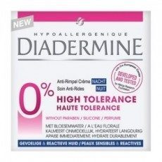 Diadermine High Tolerance Anti -Rimpel Nachtcreme - 1 stuk