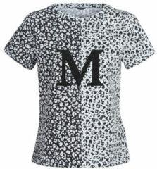 Zwarte T-shirt Korte Mouw Marciano RUNNING WILD
