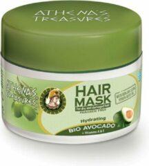 Pharmaid Athenas Treasures Haarmasker Natuurlijke haarverzorging Bio Avocado en oijfolie 200ml.