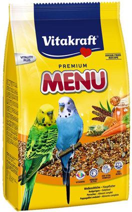 Afbeelding van Vitakraft Parkieten Premium Menu - Vogelvoer - 500 g