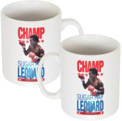 Witte Re-take Sugar Ray Leonard Legend Mok