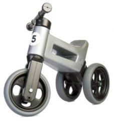 Funny Wheels Rider Sport Cool Loopfiets - Loopfiets - Jongens en meisjes - Grijs