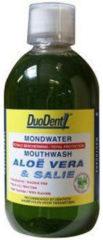 Duodent Mondwater aloe vera / salie 100 Milliliter