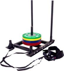 Zwarte Lifemaxx Crossmaxx Power sled