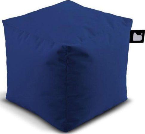 Afbeelding van Donkerblauwe B-bag extreme lounging Extreme Lounging B-Box Poef - Royalblue
