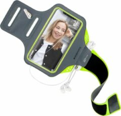 Groene Mobiparts Comfort Fit Sport Armband Apple iPhone 11 Pro Max Neon Green