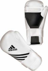 Adidas Semi Contact Handschoenen Wit S