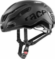 Uvex - Race 9 - Fietshelm maat 57-60 cm, zwart/grijs