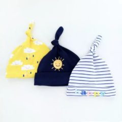 Babymuts set – happy | 3 stuks | Kidzstore.eu