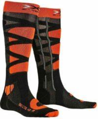 X-socks Skisokken Control Polyamide Zwart/oranje Mt 35-38