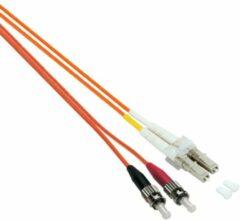 EFB Elektronik O0371.0,5 Glasvezel Aansluitkabel [1x LC-stekker - 1x ST-stekker] 62,5/125 µ Multimode OM1 0.50 m