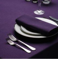 Paarse Treb Color Collection Servetten, 4 Stuks, 51x51cm, Purple, Treb SP, Aanbevolen Stof