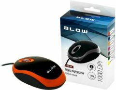 PROLECH Optische, bedrade muis WIRED MP-20 BLOW USB 100DPI oranje