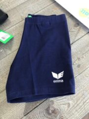 Marineblauwe Erima Verona Tight Short Dames NAVY maat 40
