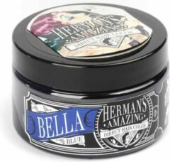 Hermans Amazing Haircolor Semi permanente haarverf Bella Blue Blauw
