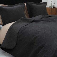 Sleeptime Bedsprei Clara Antraciet 260x250 + 2 Kussenslopen 60x70 Antraciet