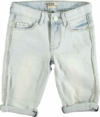 Blauwe Indian Blue Jeans Indian blue nova slim fit denim short meisje Short Short Maat 116