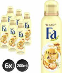 Fa Mousse And Oil Moringa Douche Foam - 6 stuks - Voordeelverpakking