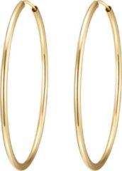 Goudkleurige Rafaela Donata oorringen Sterling Silber gelbvergoldet