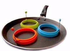 MHT Ei Ring - Pancake Ring - Groen - Pancake Maker - 1 stuk - Keuze uit 10 Verschillende Varianten