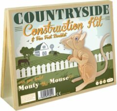 Enigma Animal Construction Kit - Countryside Monty Mouse