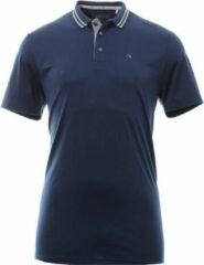 Calvin Klein Golf Polo Stretch Blauw S