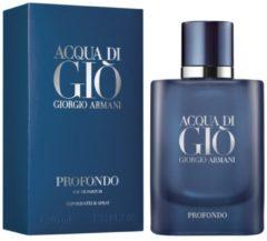 Emporio Armani GIORGIO ARMANI Giorgio Armani Acqua di Giò Profondo eau de parfum 40ml eau de parfum