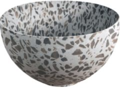 Looox Sink Ceramic Small Waskom / fontein 23cm terrazzo zwart WWKS23TZW