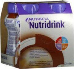 Nutridrink Chocolade 200 ml 4 Stuks