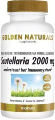 Golden Naturals Scutellaria 2000 mg (30 veganistische capsules)