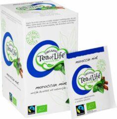 Tea of Life Organic - Moraccan Mint - 20 x 1,75gr