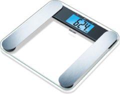 Transparante Beurer BF220 - Personenweegschaal lichaamsanalyse - XL display - 180kg - Glas