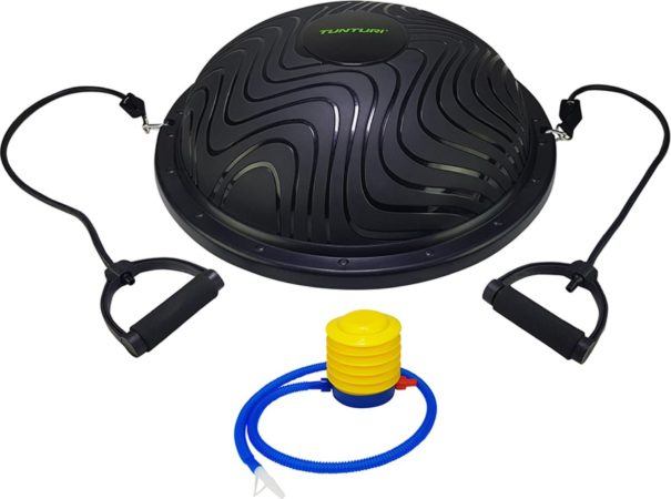 Afbeelding van Zwarte Tunturi pro balance trainer balanstrainer compleet