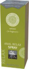 Transparante Shiatsu Anal Relax Spray - Voor Beginners