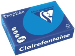 Clairefontaine Trophée Intens A4, 210 g, 250 vel, turkoois