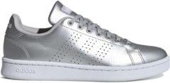 Adidas CloudFoam Advantage Sneakers - Schoenen - zilver - 40