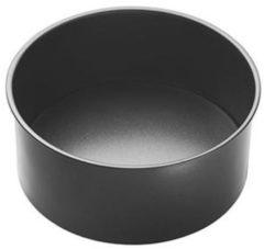 Grijze Ronde bakvorm met losse bodem, extra diep, 18cm - Masterclass
