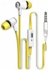 GsmXL J3-21 - oordopjes - geel-wit