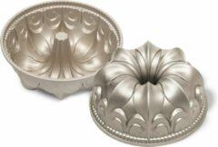 Zilveren Guardini Bakeware Guardini Bakvorm - Lily Flower 23,5 cm