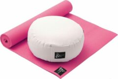 Roze Yoga-Set Starter Edition - Meditatie (Yoga mat + meditatiekussen) pink Fitnessmat YOGISTAR
