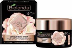 BIELENDA Camellia Oil 40+ luksusowy krem przeciwzmarszczkowy na dzień i na noc 50ml