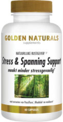Golden Naturals Stress & Spanning Support (60 vegetarische capsules)
