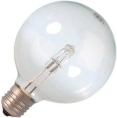 Huismerk halogeenlamp Halogeen EcoClassic globelamp helder 42W 95mm grote fitting E27