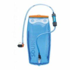 Source waterfilter Filter kit met Widepack en Mini Sawyer 2 liter - blauw