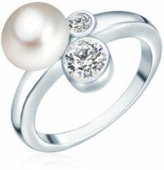 Valero Pearls Valero Pearls Parel ring Sterling zilver Gekweekte zoetwaterparels wit