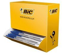 BIC Value Pack Cristal® Balpennen 0 4 mm Blauw 90 + 10 gratis 100 Stuks