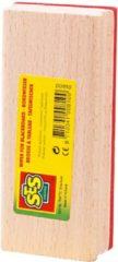 Krijbord wisser van hout - SES - krijtbordwisser/schoonmaakwisser
